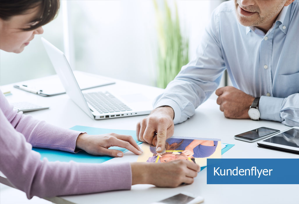 Marketing-Services - Personalisierbare Kundenflyer