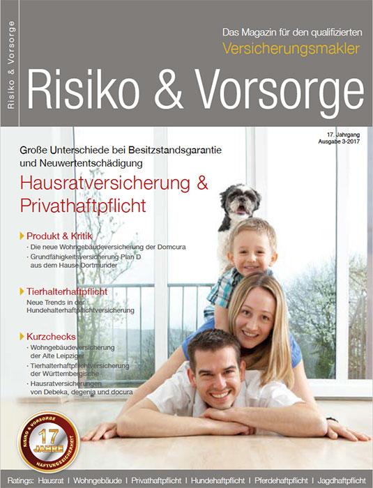 Risiko und Vorsorge Ausgabe 3 2017