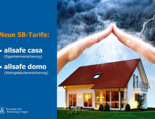 Neue Selbstbehalt-Tarife für den K&M-Wohngebäudeschutz