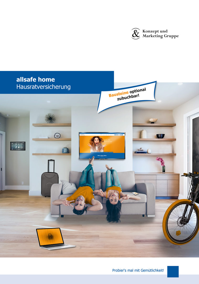 allsafe home - A4 Flyer Tarife