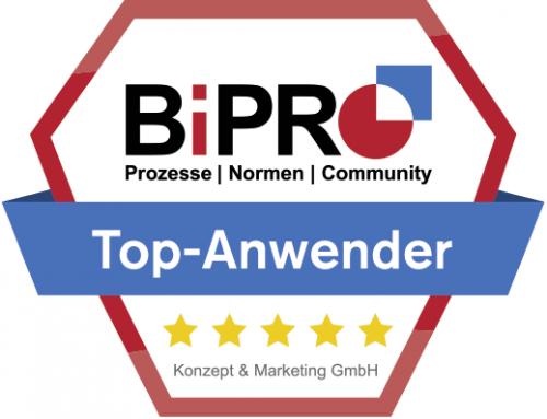 K&M ist BiPRO-Top-Anwender