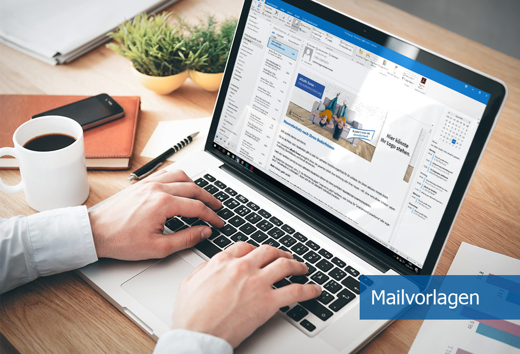 Marketing-Services - E-Mailvorlage zur direkten Kundenansprache