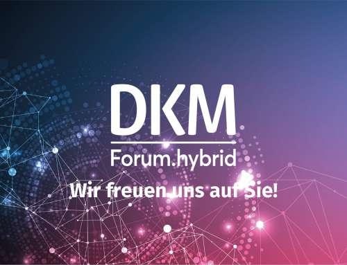 K&M auf dem DKM Forum hybrid 2021